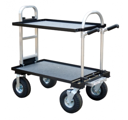 """Junior Magliner Film Cart with 10"""" Wheel Conversion Kit"""