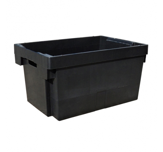 Recycled Black Stack Nest Container