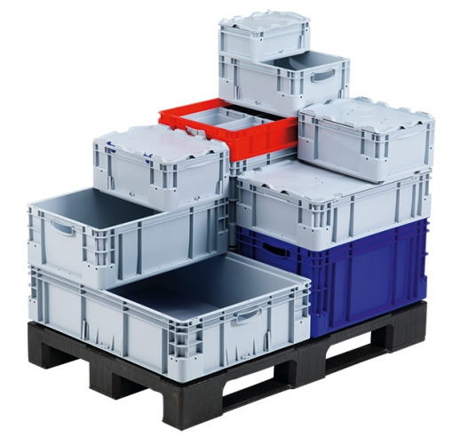 Silverline container range on a pallet