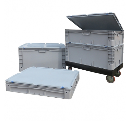 Group of large container cases