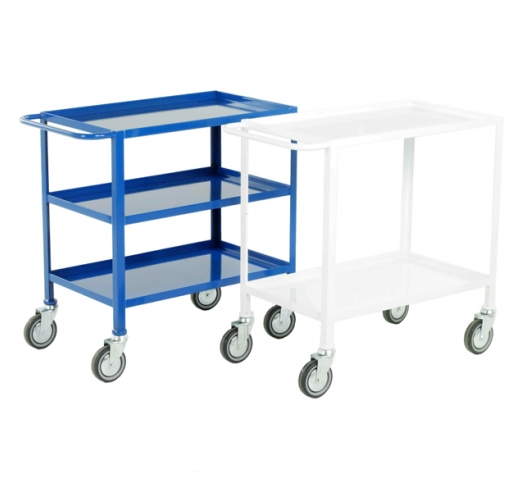 Group Of Low Cost Tray Trolleys