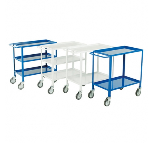 Group Of Tray Trolleys