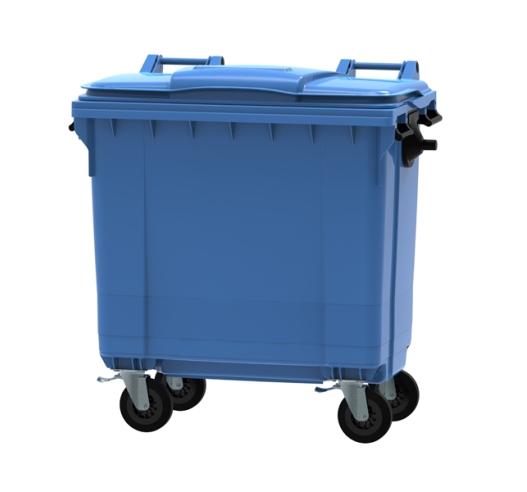 770 Litre Wheeled Bin in Blue