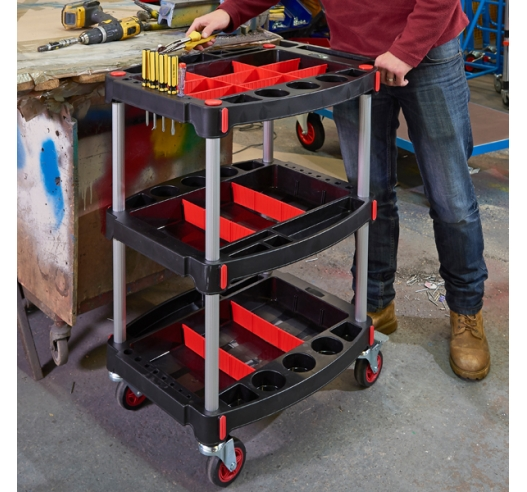 Tool Trolley In Use
