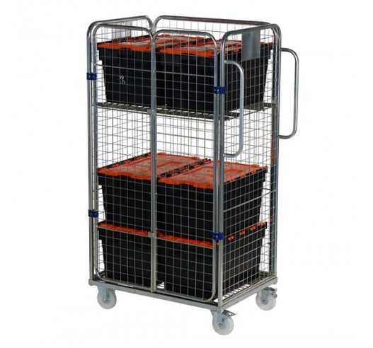 Trolley With Containers Example