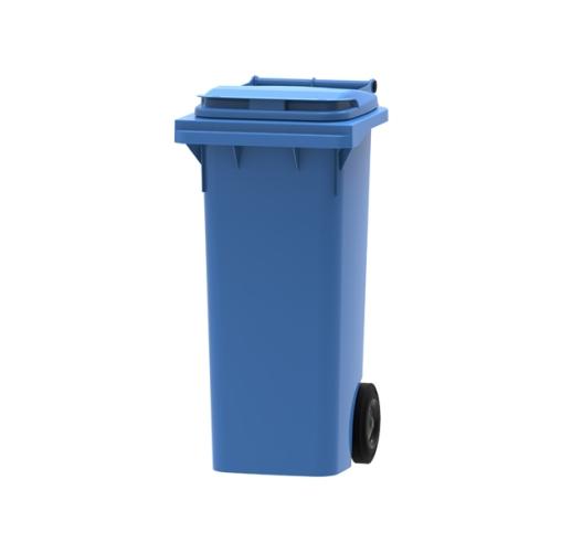 80 litre wheelie bin in blue