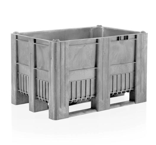 CB1 Light Grey Euro Pallet Box
