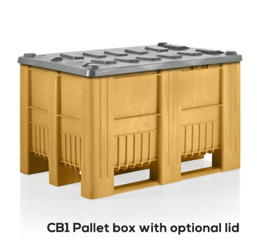 CB1 Yellow Euro Pallet Box