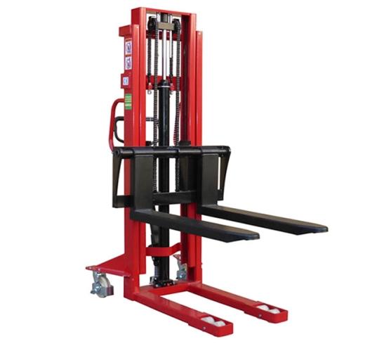 Adjustable Fork Pallet Stackers