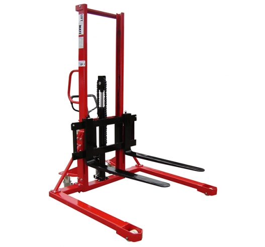 Manual Lift Straddle Stacker