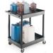 2 Level Shelf Tray Trolley