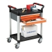 2 Shelf Trolley with 2 Drawers