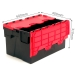 Black and Red Tote Boxes with 52 Litre Capacity