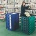 Storage container crates