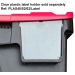 PLAS40 Plastor Label Holder (Clear Plastic)