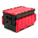 Stackable and Nestable Plastic Crates
