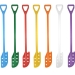 Coloured Plastic Stirring Paddle with Holes