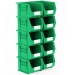 Pack of 10 Green Linbins Size 6