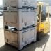 Plastic Pallet Boxes on Forklift Truck