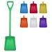 Standard Coloured Long Handled Shovels (Food Grade)