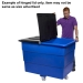 Tidy Truck Hinged Lid Example - (Item may not be same size as advertised product)