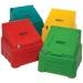 Coloured 200 litre grit bins
