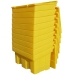 350 litre grit bin stacked and nested