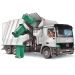 Wheelie bin compatible with refuse truck