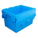 70 litre large attached lid container