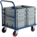 CT81 Euro Container Trolley With Euro Containers