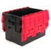 Nested Black and Red Boxes with 52 Litre Capacity