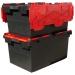 Large Plastic Stackable Storage Crates