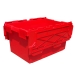 Large Red Plastic Crates with 80 Litres Capacity