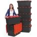 Large Plastic LC3 Storage Crates