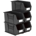 Size 9 Linbins in Black Recycled Plastic