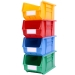 Stack of Coloured Size 4 Linbins