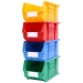 Stack of size 6 coloured Linbins