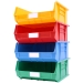Stack of size 8 coloured Linbins