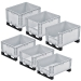 Basicline Containers Range with Runners