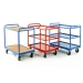 Group of Industrial Tray Trolleys