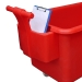 Red handle with contents