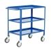 3 Tier Tray Trolley In Blue