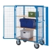 DT601Y Distribution Truck With Doors And Shelving